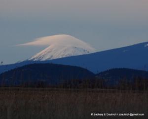 Mount McLoughlin sunset