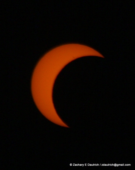 solar eclipse Albany, CA / May 20, 2012