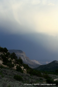 storm over mesas / western CO