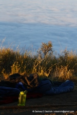 sky camp above the clouds 01 / Los Padres Nat Forest CA