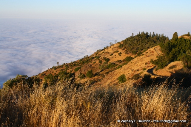 sky camp above the clouds 03 / Los Padres National Forest CA