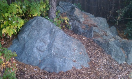 petroglyph rock IN MY YARD(?!)